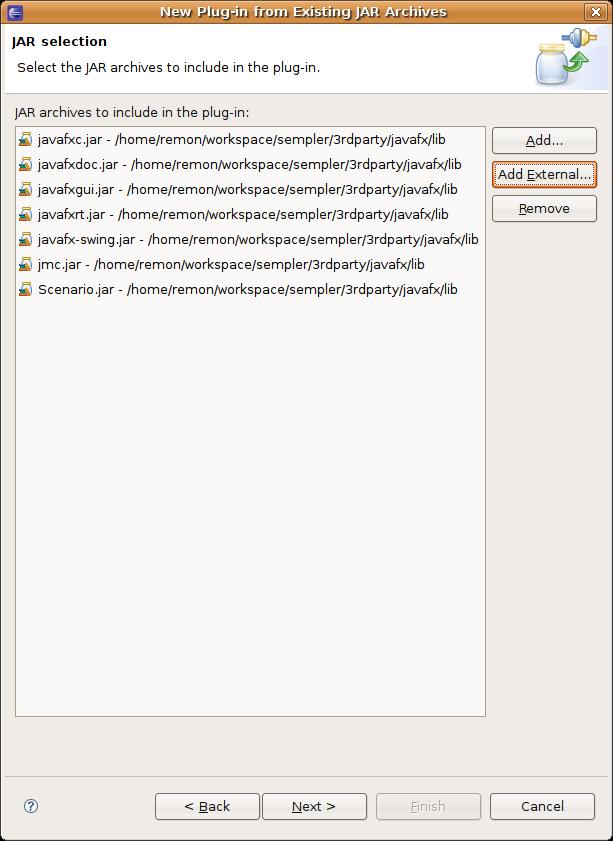 Running a JavaFX script from an OSGi bundle | Secure Cloud Development