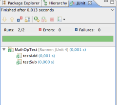 JUnit passing test